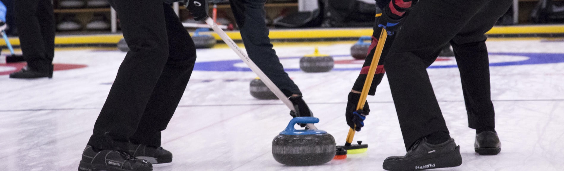 men curling team at sarnia golf & curling club